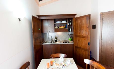 Camera con angolo cottura a Spoleto in Umbria