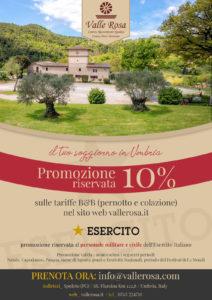 convenzione hotel umbria esercito italiano